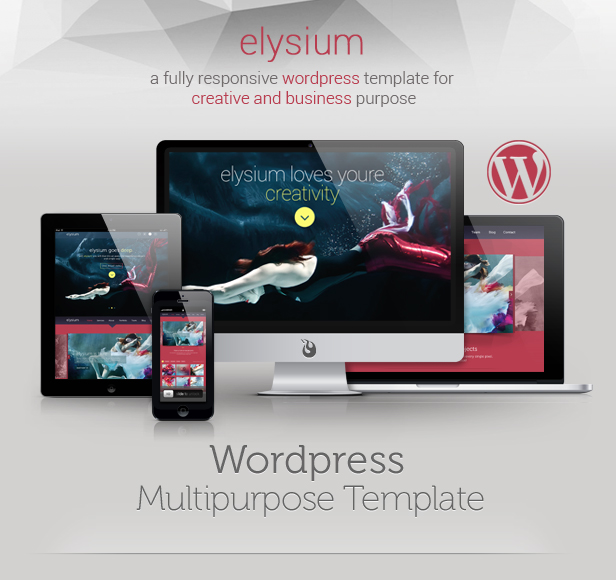 WordPress theme Elysium Multipurpose WordPress Theme (Portfolio)